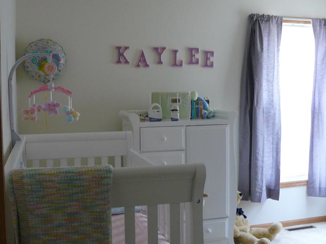 Kaylee's room!